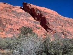 Rock Climbing Photo: View of Great Red Book and the prominent features ...