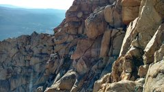 Rock Climbing Photo: Only a few non-hiking sections taken: high 4th sla...