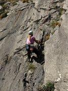 Rock Climbing Photo: Starting up Cidokor