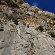 Rock Climbing Photo: The full enchilada with the upper wall above adds ...