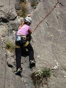 Rock Climbing Photo: Sweet start on Tičica