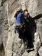 Rock Climbing Photo: Starting up Vile