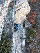 cold fall climbing.