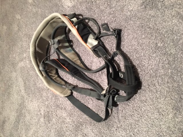 Camp Quartz CR3 harness used but in good shape, men's large: 40$