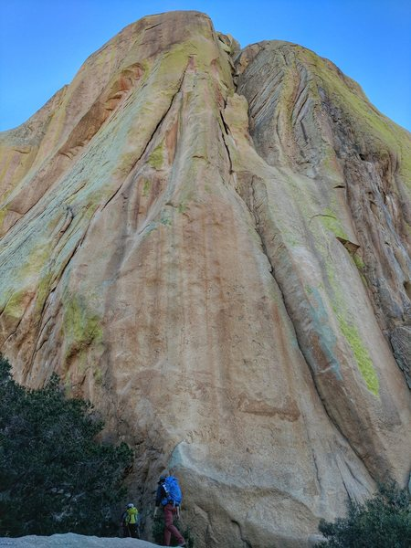 Rock Climbing Photo: On the approach to End Pinnacle in the Rockfellow ...