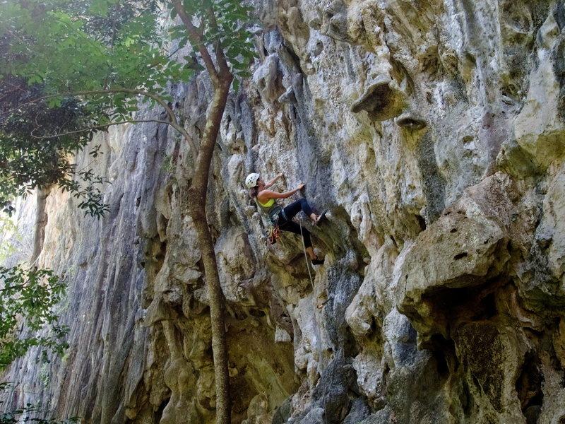 Rock Climbing Photo: Das Geschwür 6a