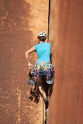 Rock Climbing Photo: Climbing at the Creek