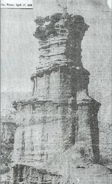 Rock Climbing Photo: The Lighthouse Palo Duro Canyon