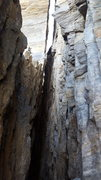 Rock Climbing Photo: This photo is from the base of the route and shoul...