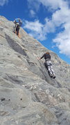 Rock Climbing Photo: Pat and Ilene crushing moderate routes at the Sunn...