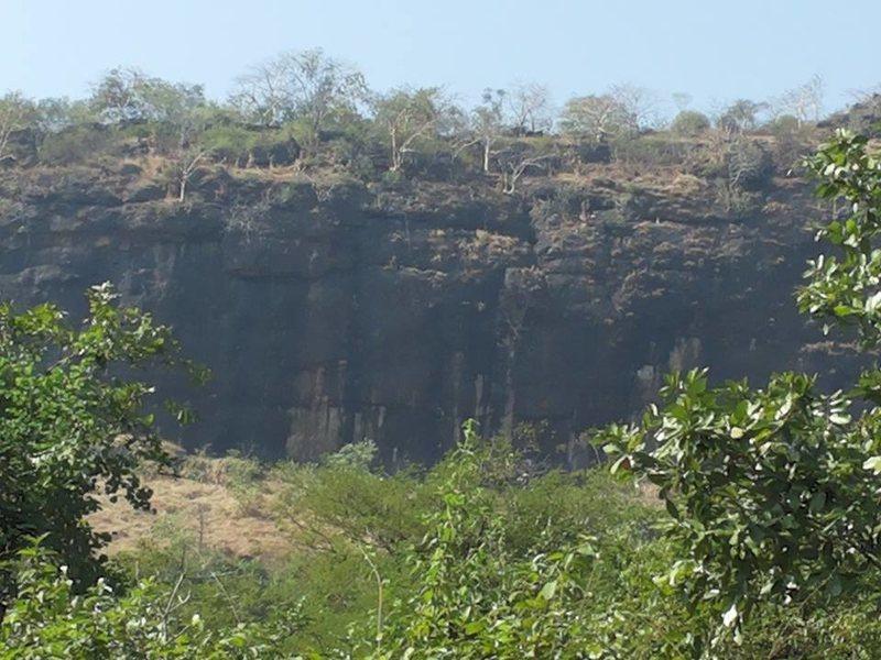 Rock Climbing Photo: Left crag