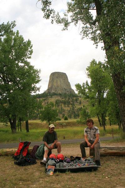 Rock Climbing Photo: j&t