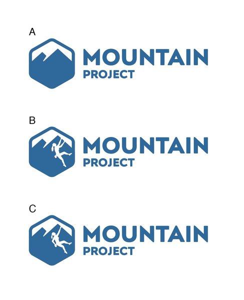 Rock Climbing Photo: New new logo options