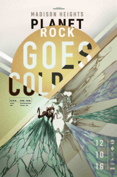 Planet Rock goes cold!