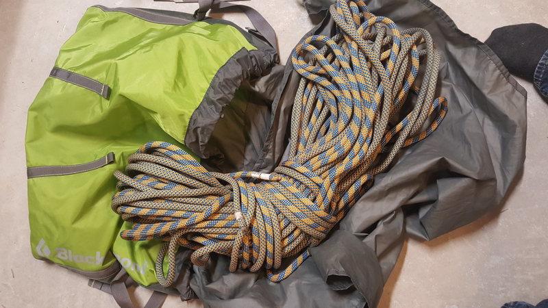 Rope + bag