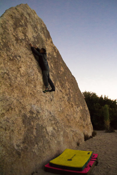 Rock Climbing Photo: High top while the sun sets