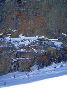 Rock Climbing Photo: Erik and the Eigerwand!!