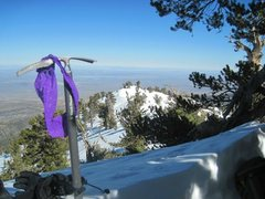 Rock Climbing Photo: Panties on the summit Panties on the summit!!