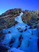 Rock Climbing Photo: 600' of beautiful WI 3/4