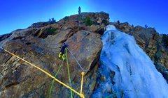 Rock Climbing Photo: Mixed anchor!!