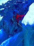 Rock Climbing Photo: Knife Blade, Dead Man & a Screw!!