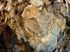 Rock Climbing Photo: Drone Shot Main Face.