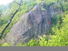 Rock Climbing Photo: victory wall had to tree solo to get this shot R...