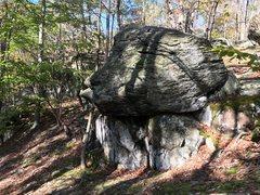 Rock Climbing Photo: Jabba the Hutt boulder at the Cunningham Falls Are...