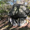 Jabba the Hutt boulder at the Cunningham Falls Area<br> Catoctin Mountain Park, Maryland
