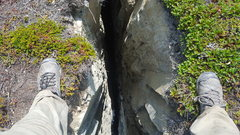 Rock Climbing Photo: This is the top of the Chasm, It is located in the...