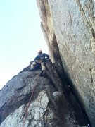 Rock Climbing Photo: Kyle, chaco styling the short, chunky approach for...
