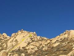 Rock Climbing Photo: Middle Slab.