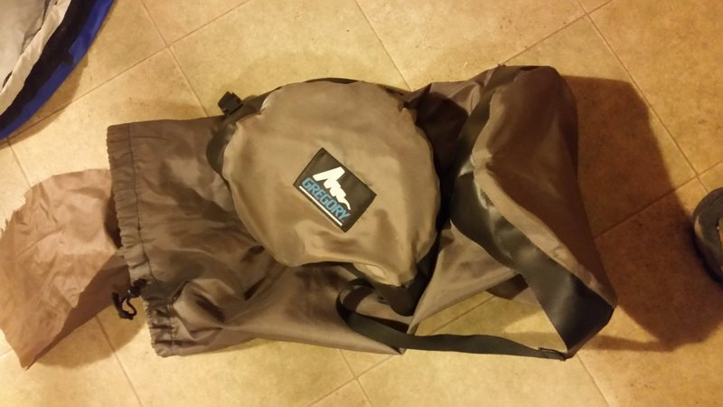 Rock Climbing Photo: Gregory compression stuff sac large $5 if purchase...