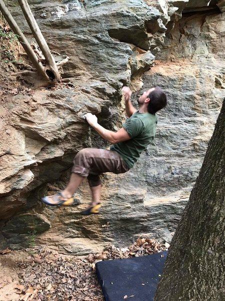 Rock Climbing Photo: Floating