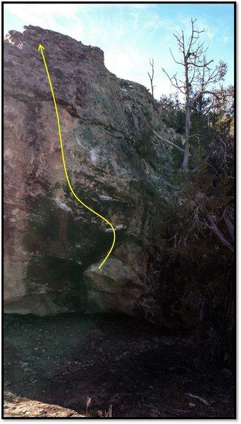 Rock Climbing Photo: Necronomicon.