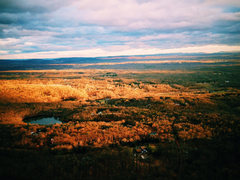 Rock Climbing Photo: A December view of the valley from the GT Ledge on...