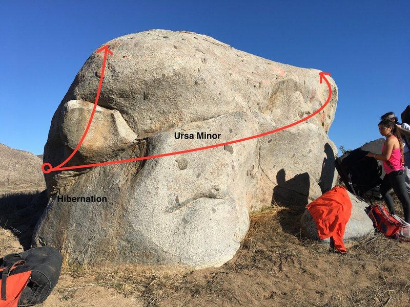 Ursa Minor Boulder