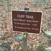 Sign by Cunningham Falls Parking lot