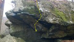 Rock Climbing Photo: Vasectomy (Jonah Boulder)