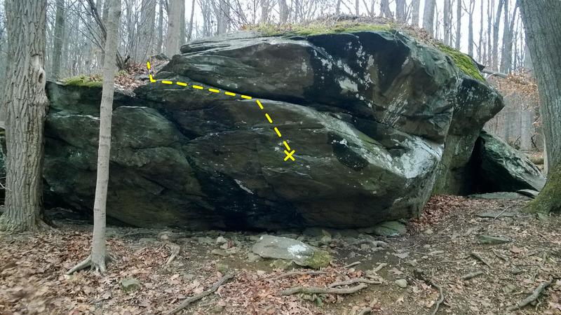 Rock Climbing Photo: Plankton (Jonah Boulder)