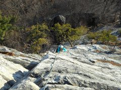 Rock Climbing Photo: A slight variation that seriously enhances the alr...