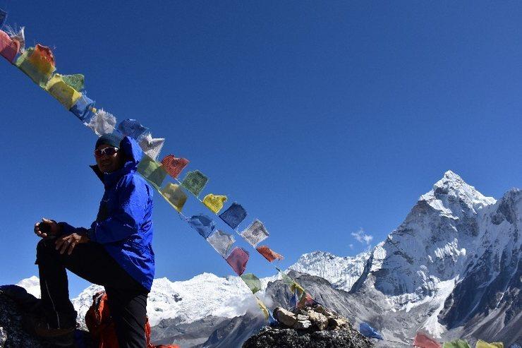 Rock Climbing Photo: Courtesy of Pemba Sherpa.