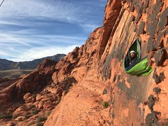 Rock Climbing Photo: If your climbing at the hamlet and the weather get...