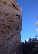 Rock Climbing Photo: Mae on Attitude Wall