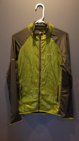 Rock Climbing Photo: Marmot Mens Frequency Hybrid jacket Large 40$ Bare...