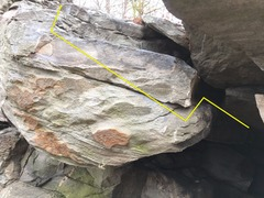 Rock Climbing Photo: Cosmic Revolution