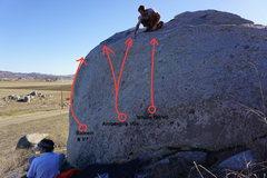 Rock Climbing Photo: Ambergris Boulder