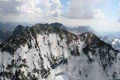 Rock Climbing Photo: Another view of the summit and the false summit Pi...