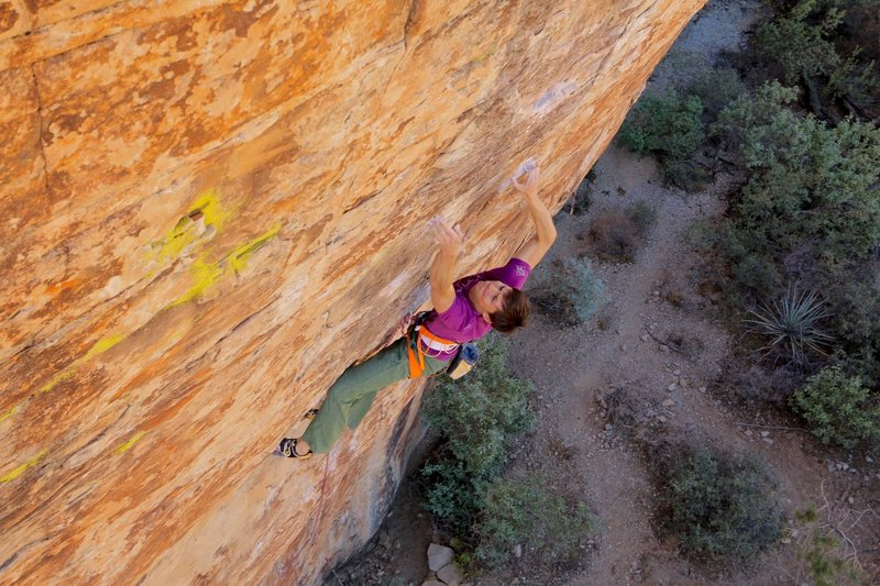 Rock Climbing Photo: Myself on ´You are what you is', secret 13, R...