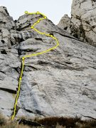 Rock Climbing Photo: Adam's Rib IV 5.10aR